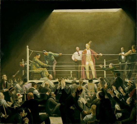 George Bellows - Ringside Seats