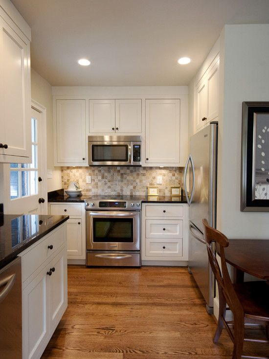Small Kitchens Kitchens And Microwaves On Pinterest