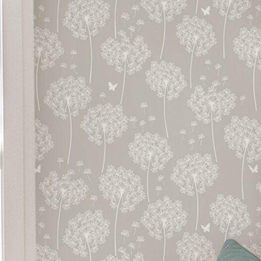 Winston Porter Seabeck Coral Peel And Stick Wallpaper Roll In 2021 Grey Wallpaper Wallpaper Trends Bathroom Wallpaper Trends