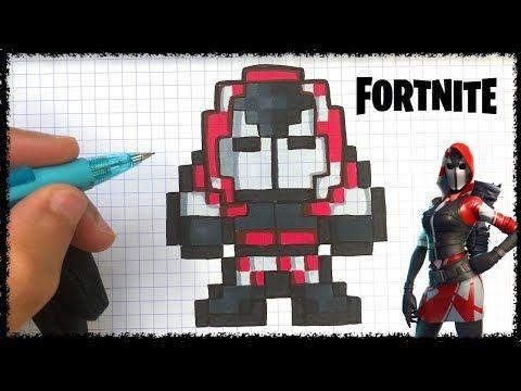 Dessin Fortnite Youtube Pixel Art Art Drawings