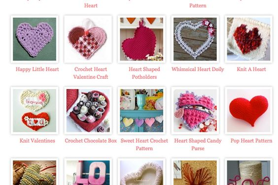Might give some ideas for Valentine's Day <3 If anyone finds the pattern for the heart shaped candy purse, could they please share it with me. Apparently that link doesn't exist anymore.