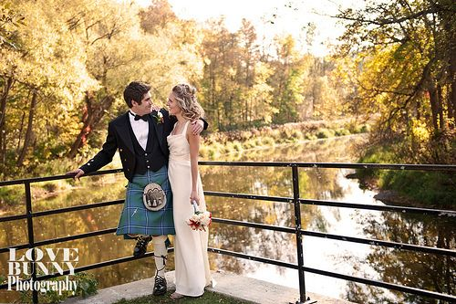 The grounds of the Wakefield Mill provide a perfect backdrop for your wedding photos.
