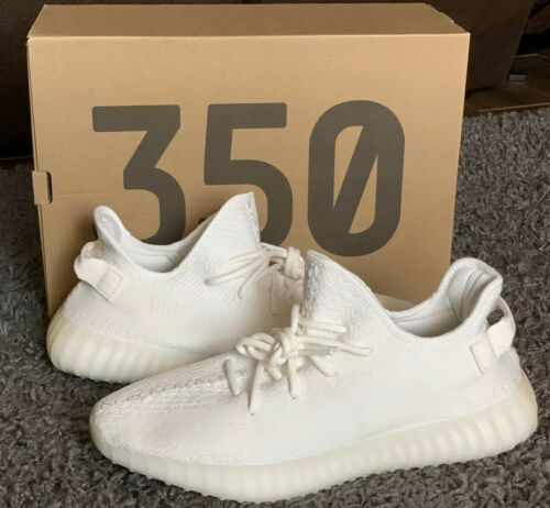 Adidas Yeezy Boost 350 V2 Cream Triple White Size 11 5 100 With
