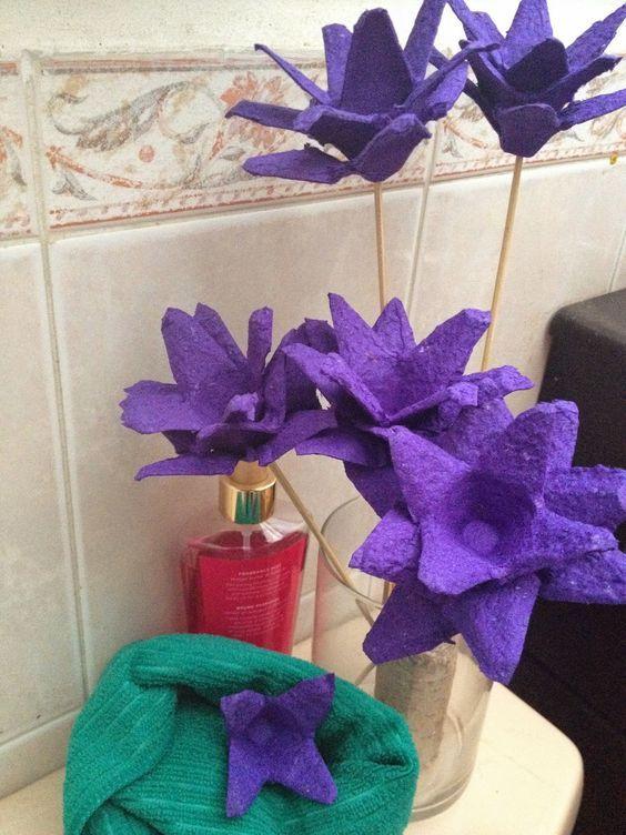 Ideashot Cómo Hacer Flores Con Cartones De Huevo Cartones De Huevos Artesanía De Cartón De Huevos Carton De Huevo Manualidades