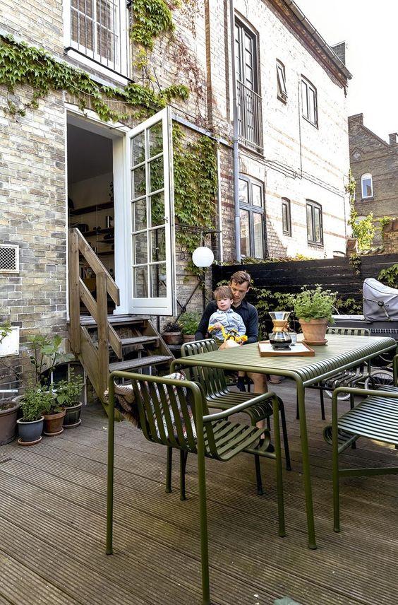 ガーデン アウトドア テーブル ヘイ