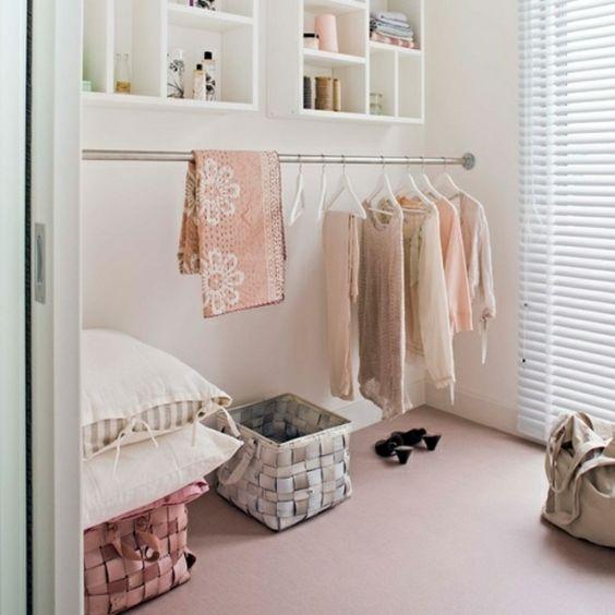 wie k nnen sie einen begehbaren kleiderschrank selber bauen ideen rund ums haus pinterest. Black Bedroom Furniture Sets. Home Design Ideas