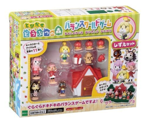 Nintendo-Animal-Crossing-New-Leaf-equilibrio-del-mundo-de-juego-Shizue-Set-Japon-Envio-Gratuito
