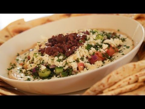 How To Make Greek Style 7 Layer Dip || KIN EATS
