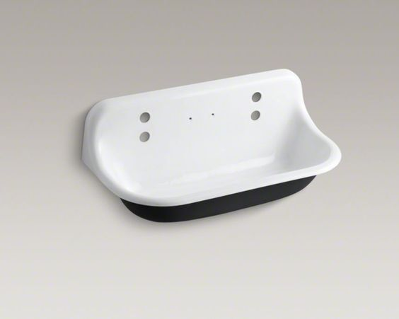 Kohler Trough Sink Commercial Line Up At The Cabin Pinterest Trough Sink Faucets And