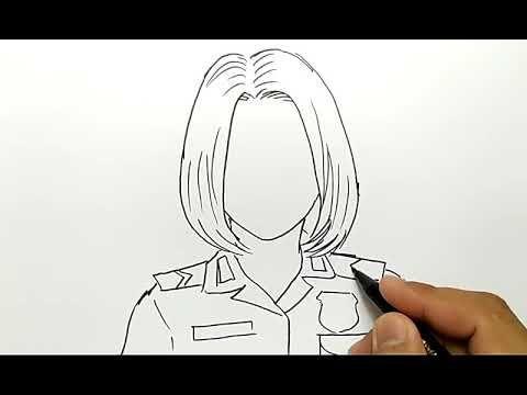23 Gambar Kartun Anak Bersalaman Dengan Guru Cantik Banget Cara Menggambar Polisi Wanita Download Kacang Rebus Dan Cint Cara Menggambar Gambar Gambar Kartun