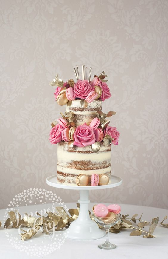 Naked cakes aren