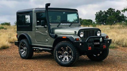 Mahindra Thar Is Just A Classic Looking Jeep Mahindra Thar