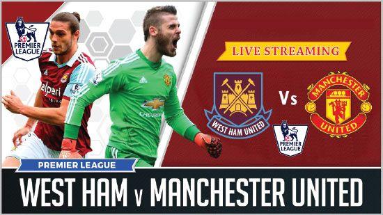 Manchester United Vs West Ham United West Ham United Manchester United English Premier League