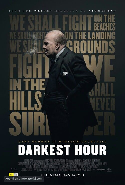 Darkest Hour Wins Best Makeup And Hairstyling Film About Time Movie Movies