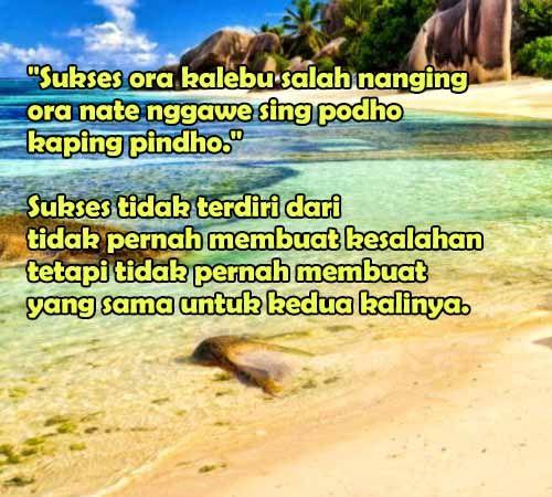 123 Kata Bijak Bahasa Jawa Yang Penuh Motivasi Dan Filosofi