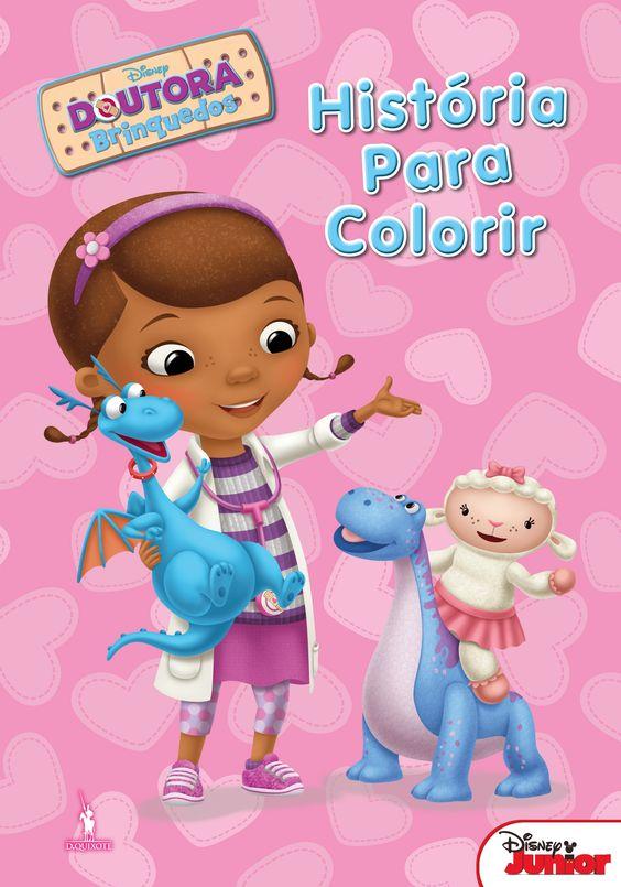 «Doutora Brinquedos: História para Colorir»