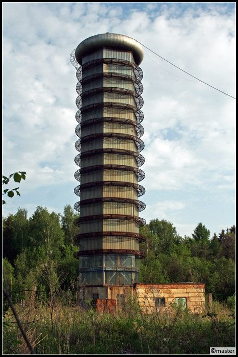 Abandoned High Voltage Pulse Generator in Russia
