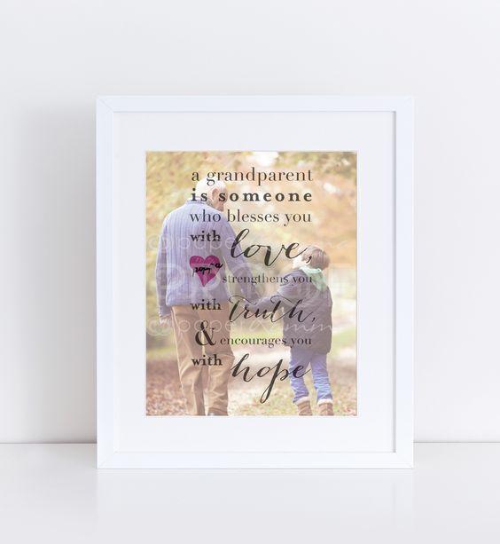 Grandparents Birthday Gifts And Birthdays On Pinterest