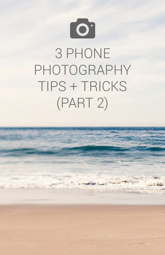 Our second and final part of Smartphone photography tips and tricks.