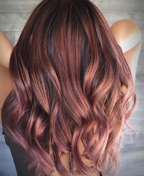19++ Brown hair with golden undertones trends