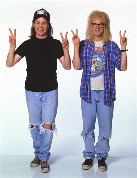 Party on Wayne. Party on Garth.