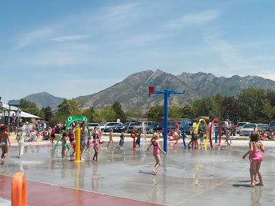 Enjoy Utah!: Splash Pads In Utah