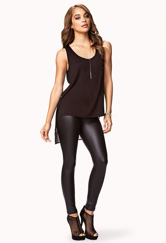 Chiffon Back Top | FOREVER21 - 2074971558