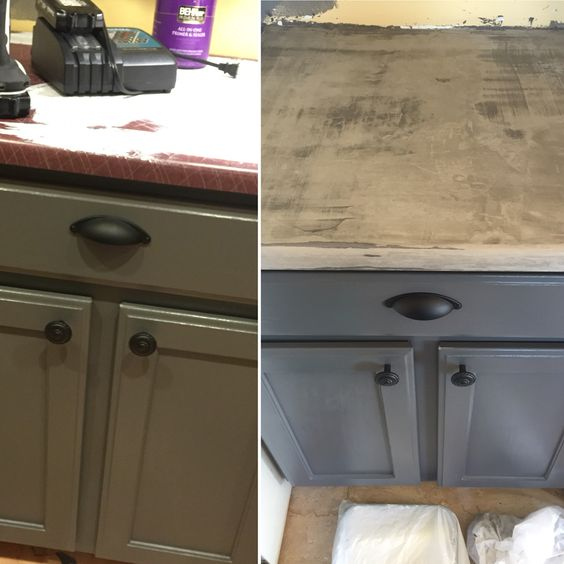 Oak Cabinets, And Then And Laminate Countertops On Pinterest