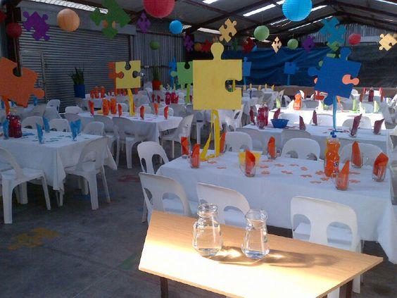 Puzzle party theme pollie van pretoria pinterest