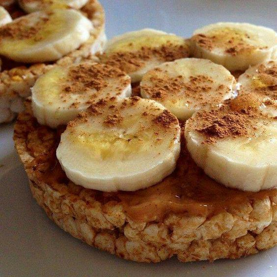 Honing, banaan, kaneel