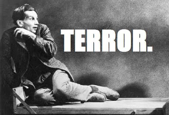 Breaking the Fear Factor: War, Financial Fraud, State Terrorism and Propaganda