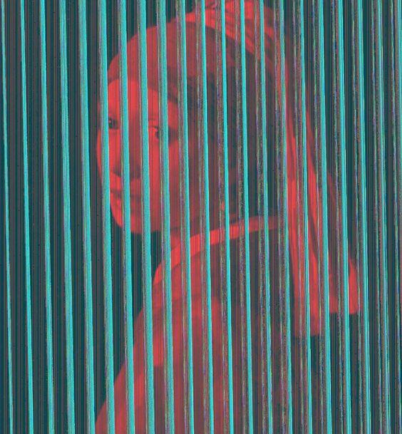 'girl with a pearl earring.jpg', 2016. By Lee Mcclymont, Inkjet print. #mauritshuis #thefrickcollection #johanessvermeer #girlwithapearlearring #roylichtenstein #edruscha #andywarhol #jeanmichelbasquiat #jeffkoons #sigmarpolke #sollewitt #sherrielevine #donaldjudd #marcelduchamp #momaps1 #thebroadmuseum #kunstmuseumbasel #mcaaustralia #leemcclymont #doctorswithoutborders #peta #animalwelfare #meditation #yoga #vegetarian #abolishslaughterhouses © Lee Mcclymont All Rights Reserved 2016