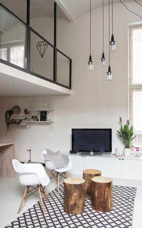 Mille et une idées pour le salon style industriel en 44 photos ...