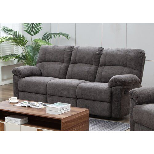 Ebern Designs Jolley 3 Seater Reclining Sofa In 2020 Living Room Sofa Design Sofa Bed Mattress Reclining Sofa