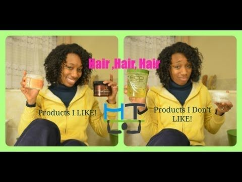 Yo HangTighters!! This is the last Hair Video in my series on my Natural Hair.. I hope you'll enjoyed them! They were highly requested so I thought I'd film them and share!! Enjoy this review video and let me know what products you use that you LOVE and HATE!  http://youtu.be/9PZLd_7So2U