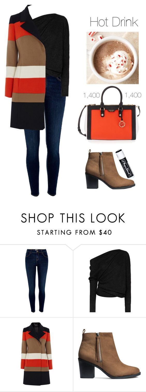 """""""Hot Drink 1,400"""" by mel2016 ❤ liked on Polyvore featuring River Island, Tom Ford, Karen Millen, H&M, Henri Bendel and Chapstick"""