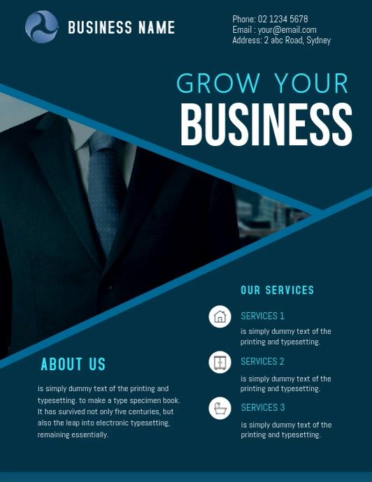 Corporate Business Flyer Template Business Flyer Templates Business Flyer Flyer Template