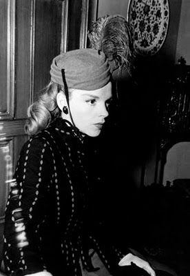 Judy Garland in a fabulous hat #vintage hats #vintagehats
