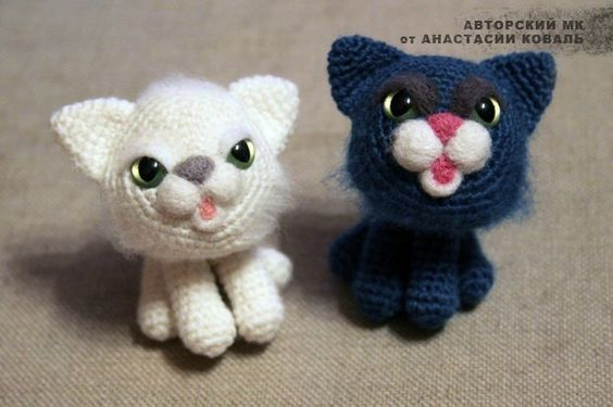Amigurumi Cat Free Pattern Pinterest