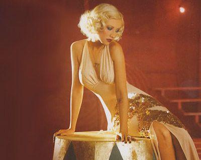 C.Aguilera from Burlesque
