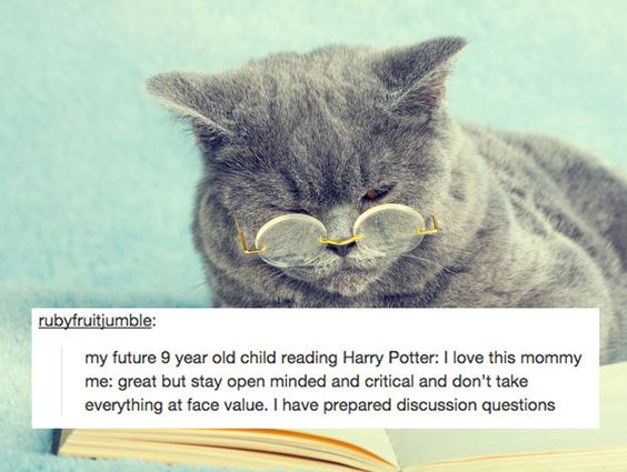 This understanding that reading is both fun and a very serious matter. | 17 Tumblr Posts All Book Lovers Will Feel In Their Soul