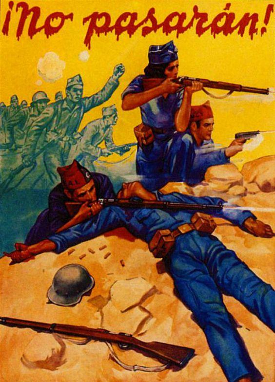 Spanish Civil War posters: