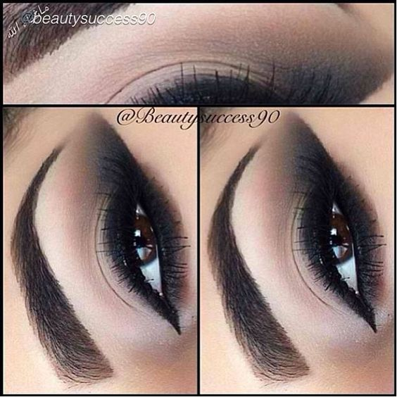 Double tap, this sultry Smokey Cat Eye