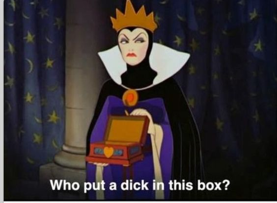 Lol dick n the box