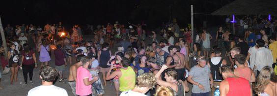 Full Moon party in Koh Rong
