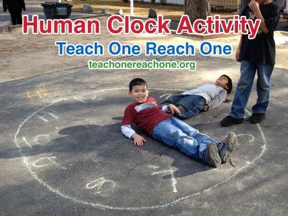 Human Clock – Teach One Reach One