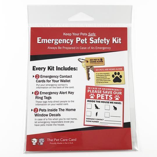 Emergency Pet Safety Kit Pet Safety Cheap Pet Insurance Safety Kit