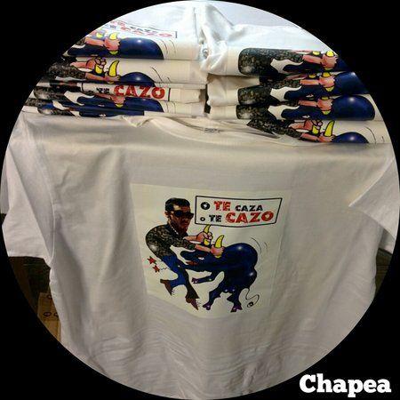 Camisetas personalizadas para despedida de soltero.#Camisetas