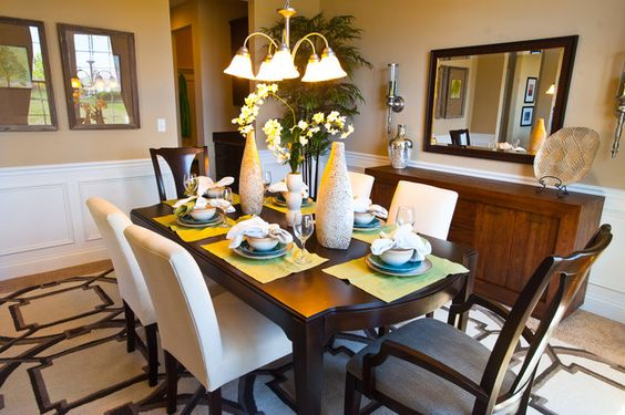features lake dining table preston woods new home builders fine dining