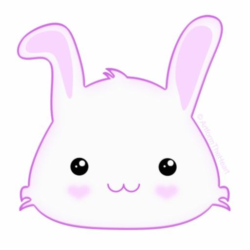 Cartoon rabbit face - photo#10